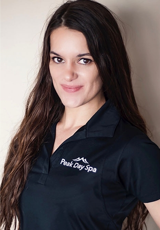 Maura: Receptionist at Peak Day Spa specialize in restorative massage with hot stones in Salt Lake City, UT